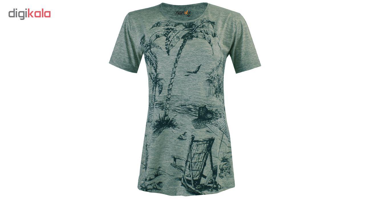تی شرت زنانه ناندو استایل کد NS60