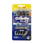 خودتراش ژیلت مدل  BLUE3 بسته 4 عددی thumb