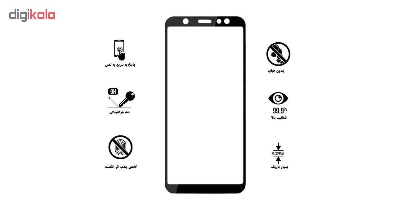 محافظ صفحه نمایش تراستکتور مدل GSS مناسب برای گوشی موبایل سامسونگ Galaxy A6 2018 بسته 3 عددی main 1 6