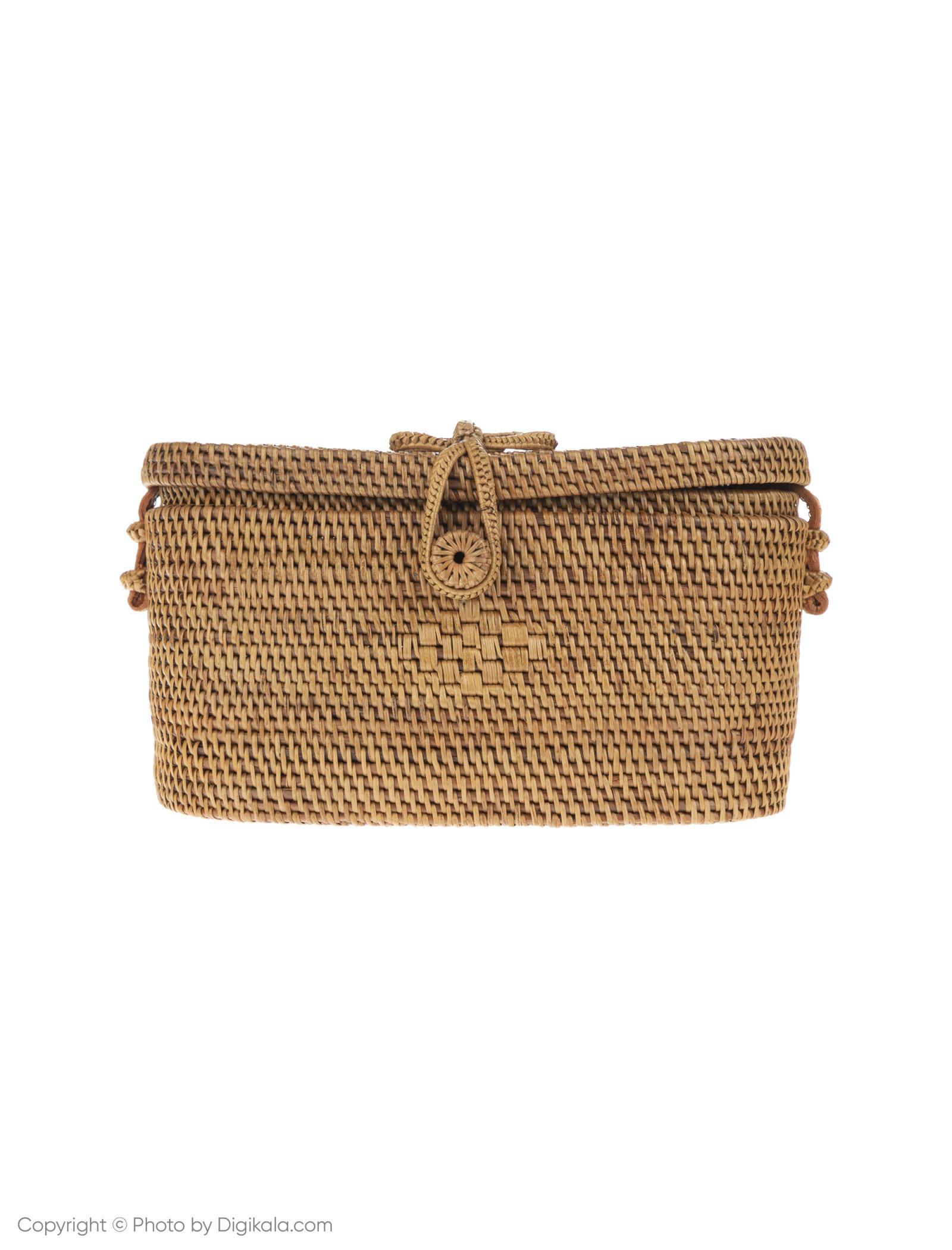 کیف دوشی روزمره زنانه - مانگو تک سایز - بژ - 1