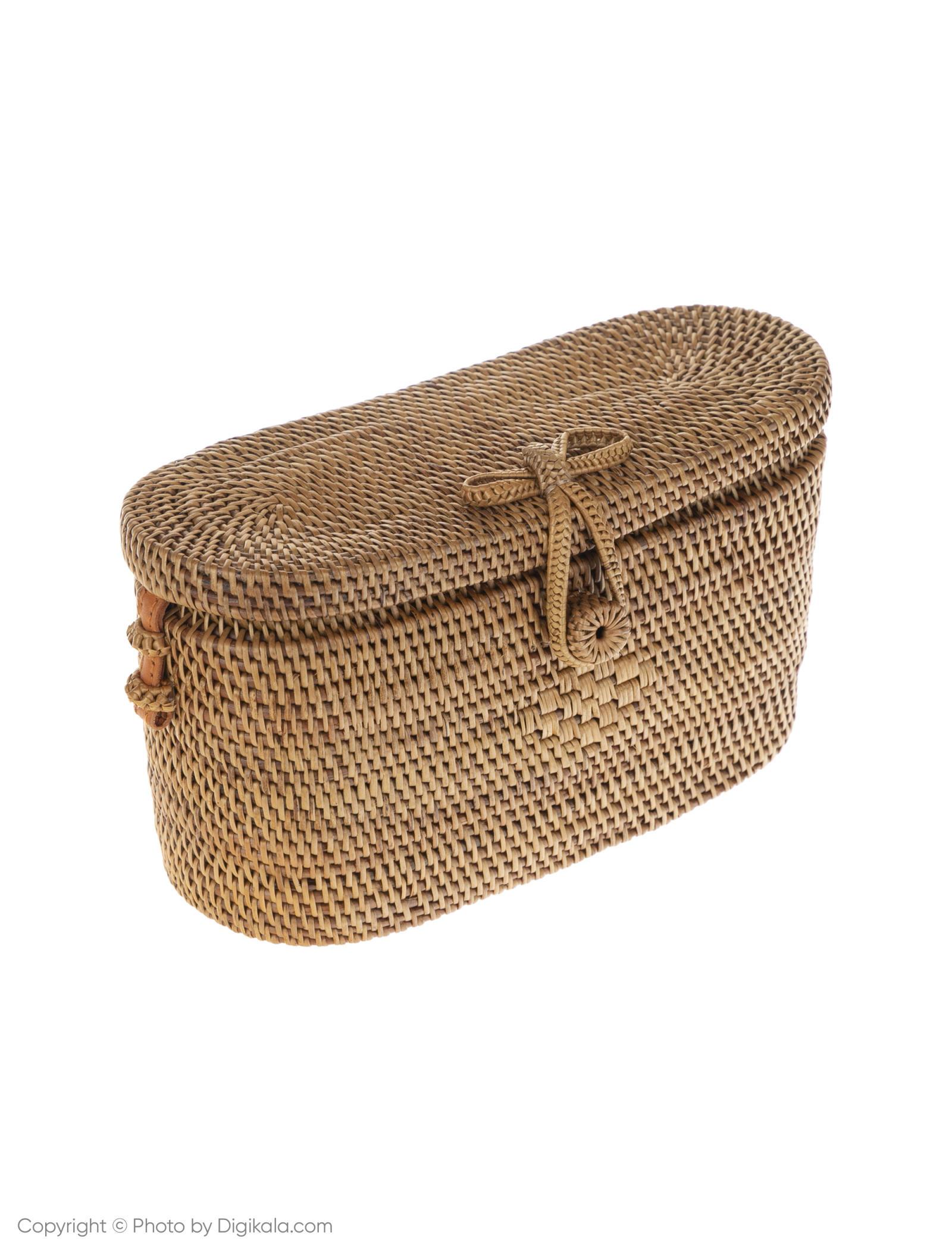 کیف دوشی روزمره زنانه - مانگو تک سایز - بژ - 4