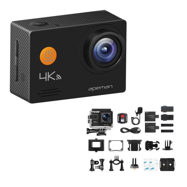 دوربین فیلم برداری ورزشی اپمن مدل A79 به همراه لوازم جانبی