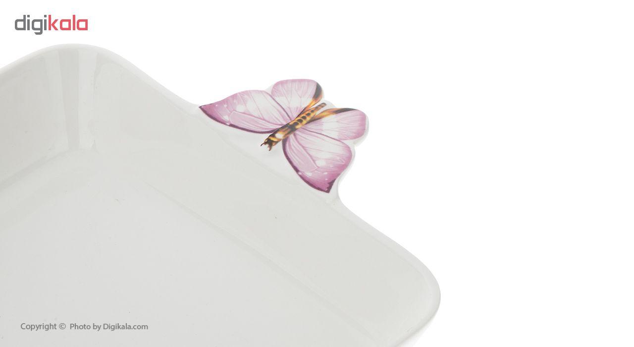 ظرف سرو گلدکو طرح پروانه مدل 8UK