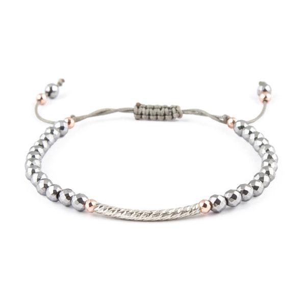 دستبند نقره زنانه ریسه گالری مدل Ri3-H1072S
