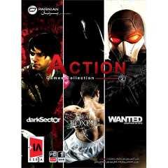 مجموعه بازی action games collection 2 مخصوص pc نشر پرنیان