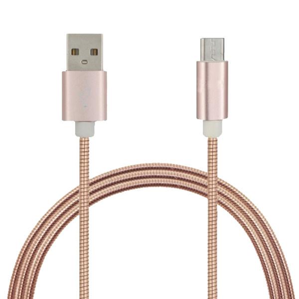 کابل تبدیل USB به microUSB رومن مدل RC-4 طول 1 متر