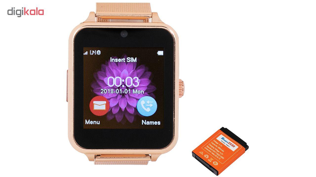ساعت هوشمند مدل Z60 همراه با باتری یدک main 1 1