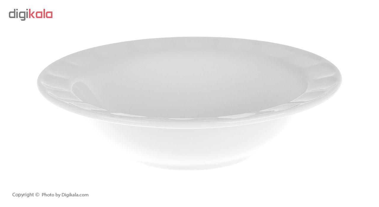 سرویس غذاخوری 29 پارچه چینی زرین ایران سری نئوکلاسیک مدل Simple درجه یک