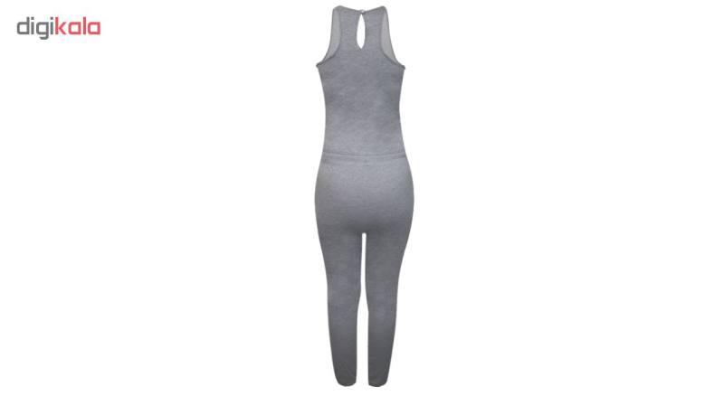 سرهمی ورزشی زنانه فرانکلین مارشال مدل Fleece V Neck No Sleeve کد 716L