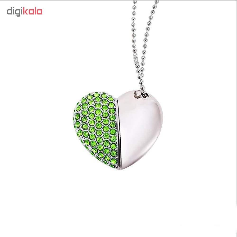 فلش مموری مدل heart6004 ظرفیت 16 گیگابایت main 1 7