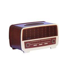 جعبه دستمال کاغذی طرح رادیو