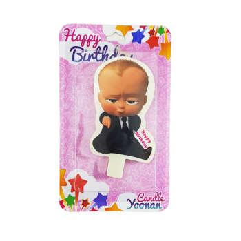 شمع تولد طرح بچه رئیس کد 183