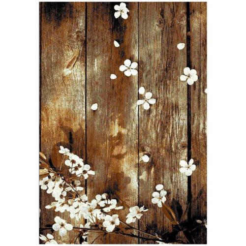 فرش ماشینی طرح چوبی کد126