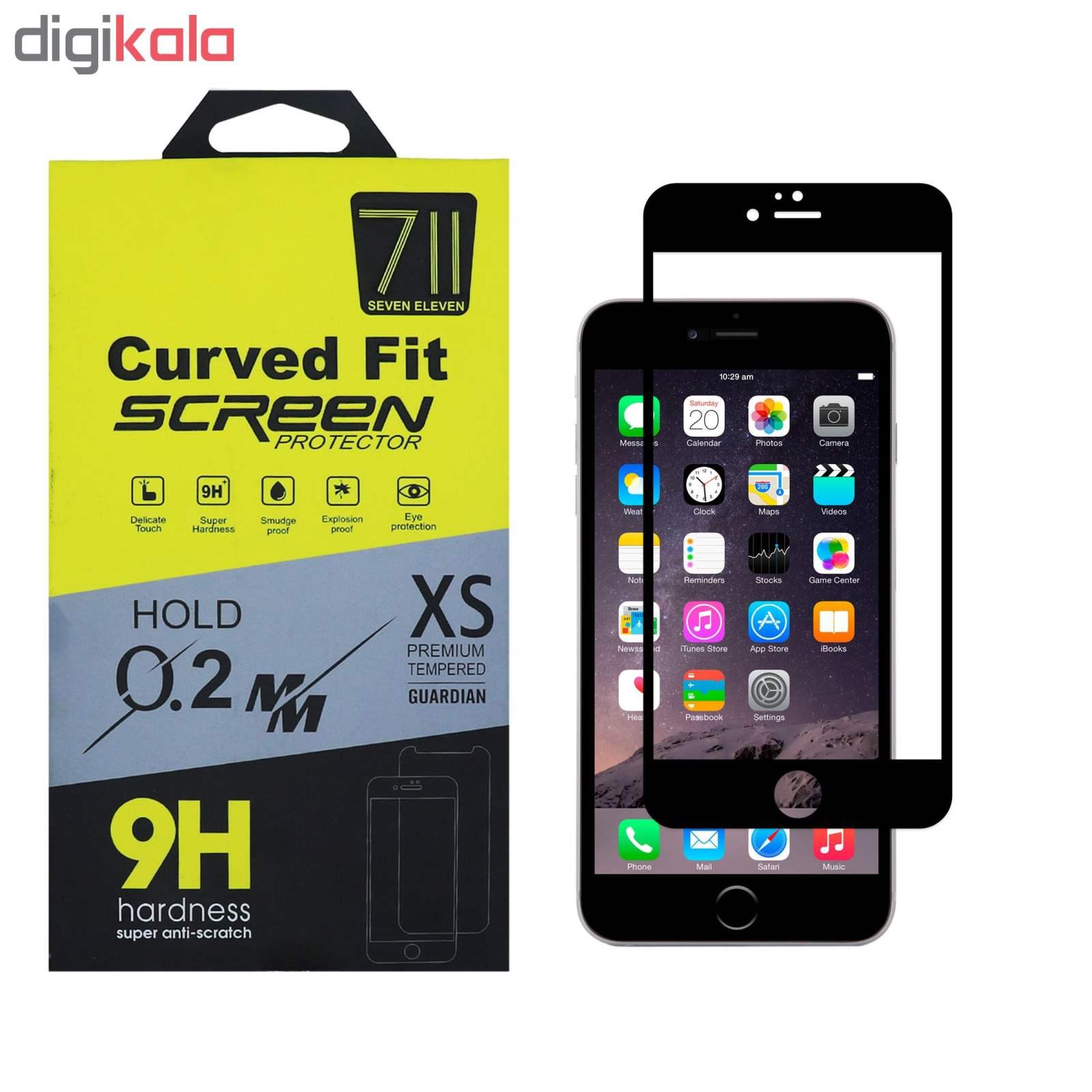 محافظ صفحه نمایش سون الون مدل Fls مناسب برای گوشی موبایل اپل IPhone 6 / 6S main 1 1