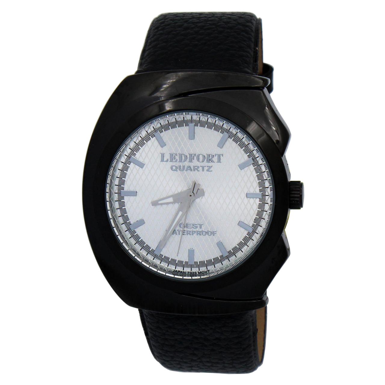 ساعت مچی عقربه ای مردانه لدفورت مدل MU-0226