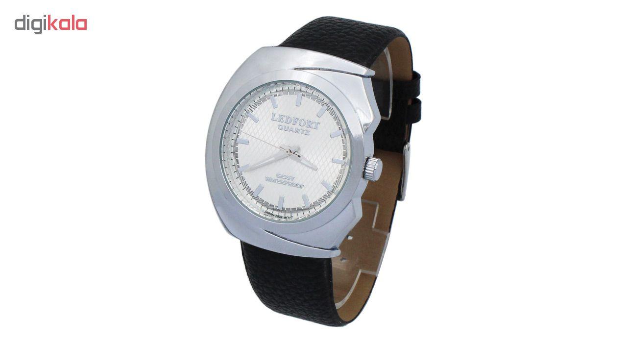 ساعت مچی عقربه ای مردانه لدفورت مدل MU-0227