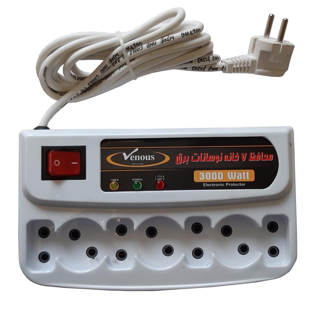 خرید اینترنتی محافظ ولتاژ ونوس مدل Digital Protector کد 001 اورجینال