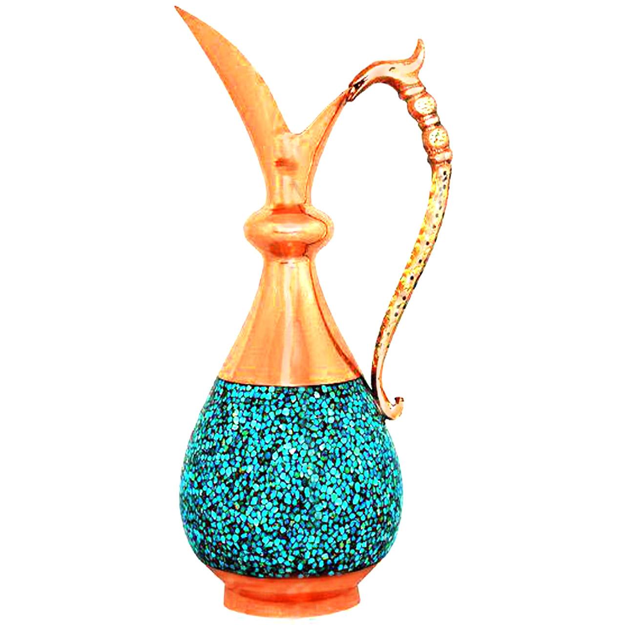 پارچ فیروزه کوبی آقاجانی کد SO26