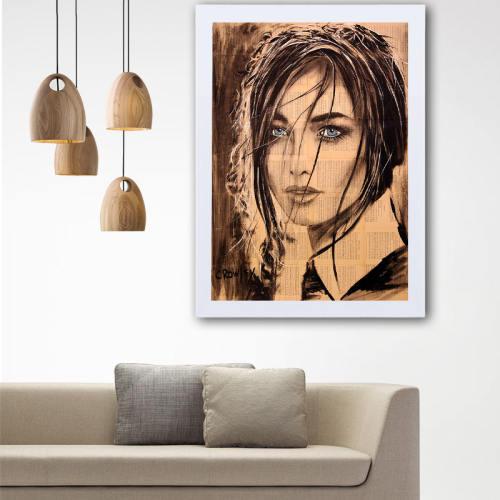 تابلو گالری استاربوی طرح دخترانه مدل هنری L37