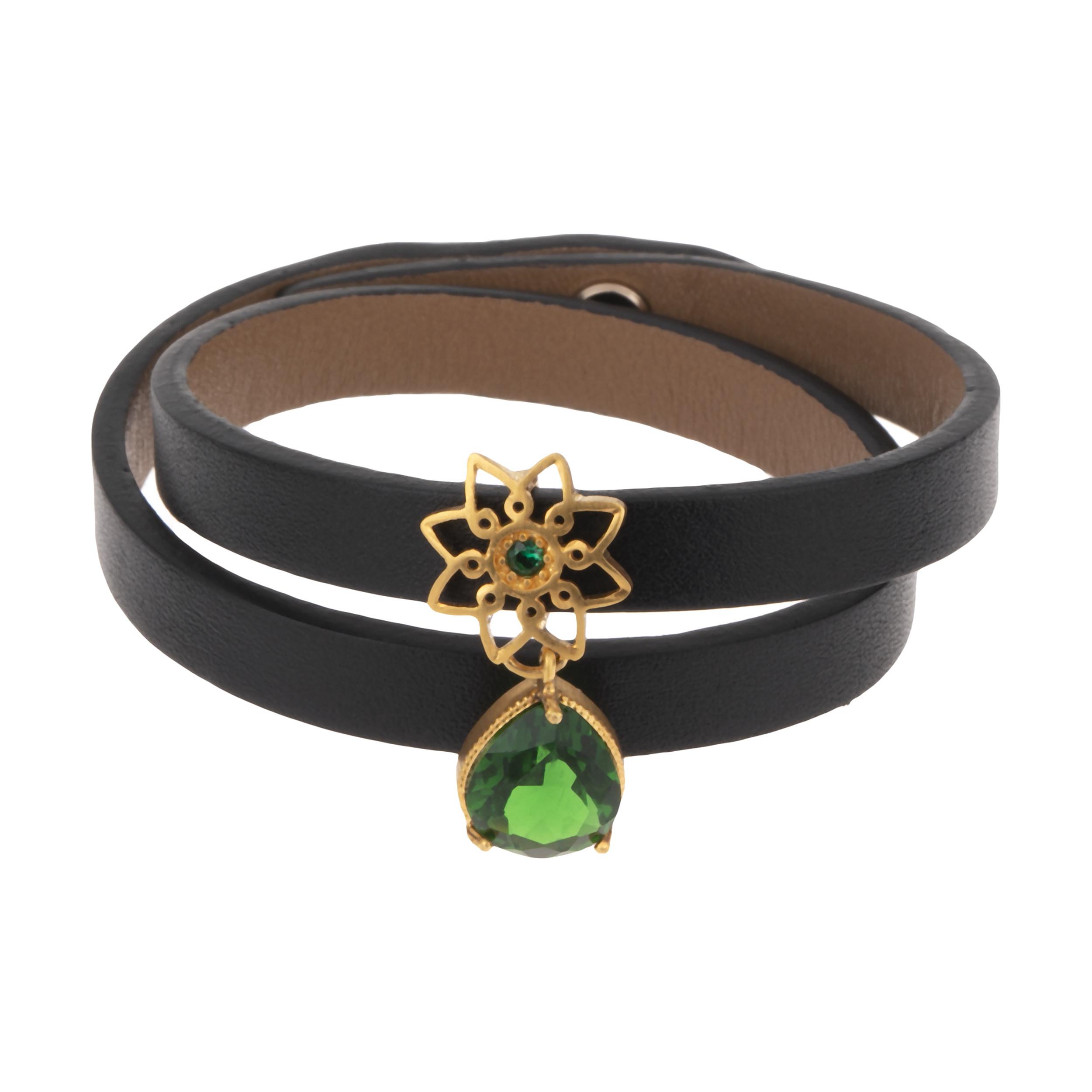 دستبند طلا 18 عیار زنانه تاج درسا مدل 577