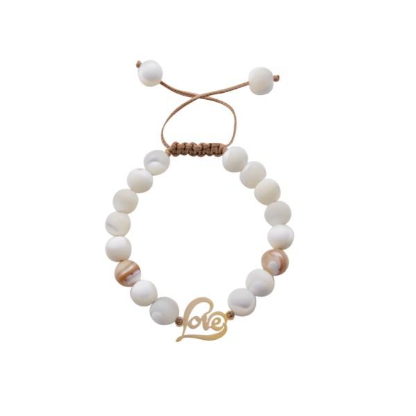 دستبند طلا 18 عیار زنانه گالری مهرسا مدل LW-115