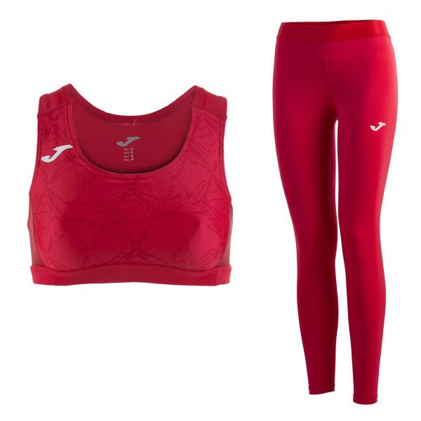 ست نیم تنه و لگینگ ورزشی زنانه جوما مدل RECORD 600