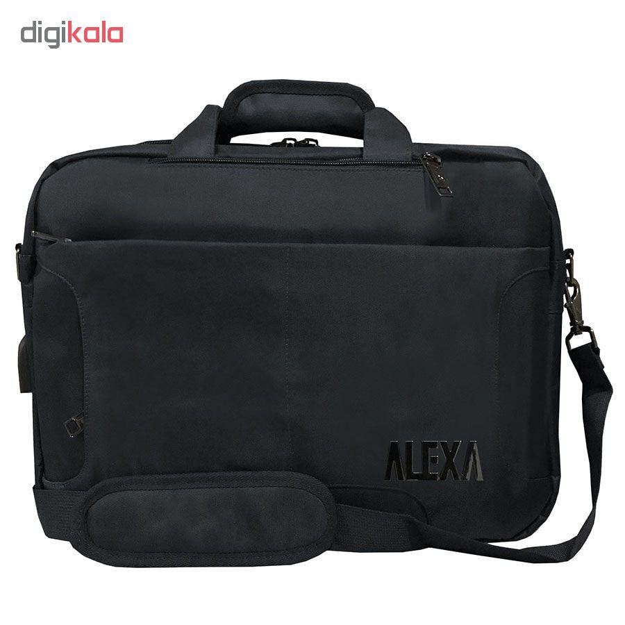 کیف لپ تاپ الکسا مدل ALX112 مناسب برای لپ تاپ 16.4 اینچی
