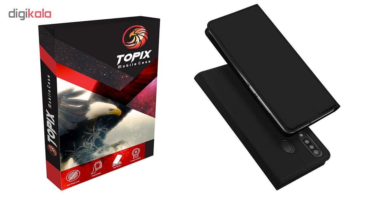کیف کلاسوری تاپیکس مدل FC-100 مناسب برای گوشی موبایل سامسونگ Galaxy M30 main 1 1