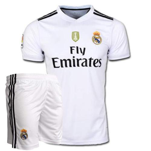 ست پیراهن و شورت ورزشی پسرانه طرح رئال مادرید مدل ISCO