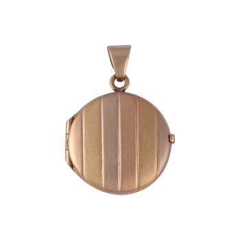 آویز گردنبند طلا 18 عیار زنانه گوی گالری مدل G358