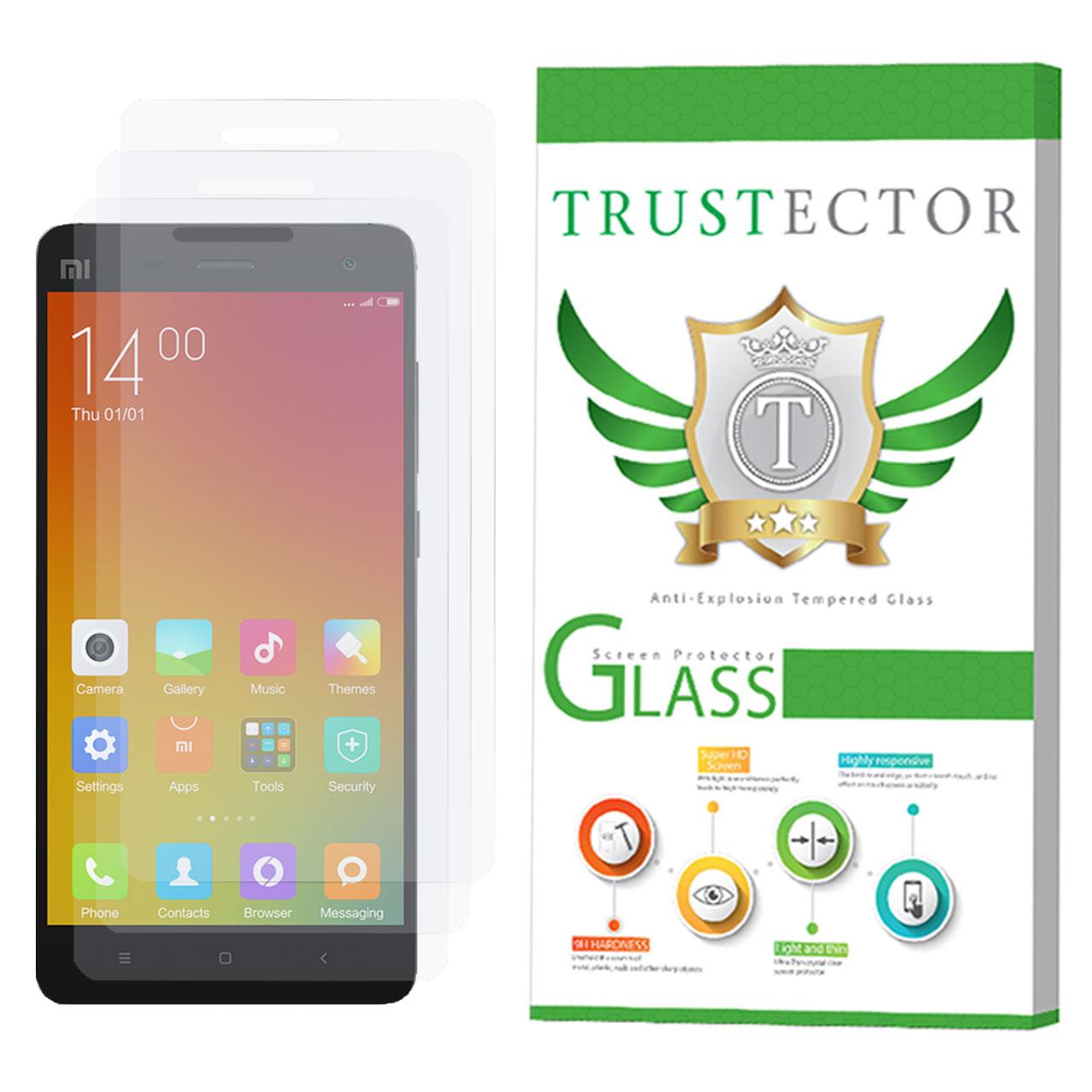 محافظ صفحه نمایش تراستکتور مدل GLS مناسب برای گوشی موبایل شیائومی Mi 4 بسته 3 عددی              ( قیمت و خرید)