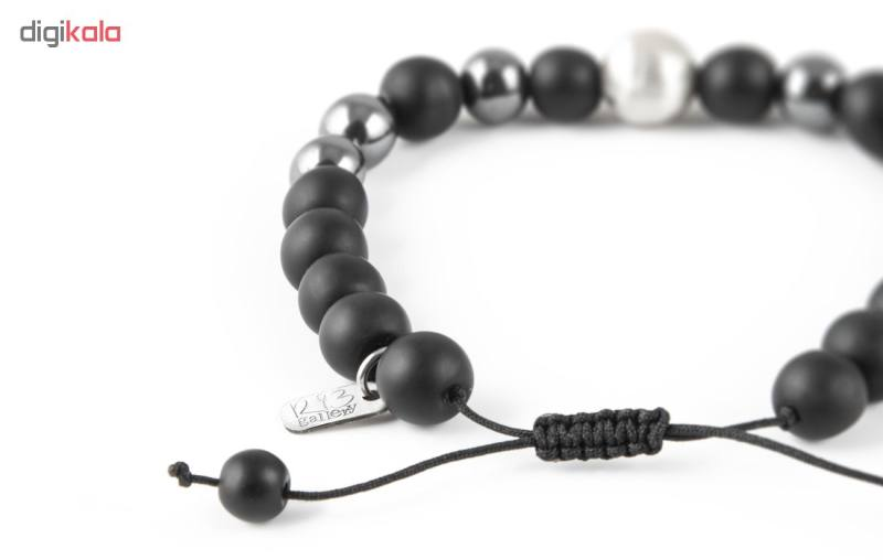 دستبند نقره مردانه ریسه گالری مدل Ri3-H1139-Silver
