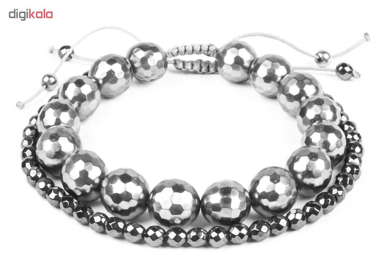 دستبند زنانه ریسه گالری مدل Ri3-1132مجموعه دو عددی