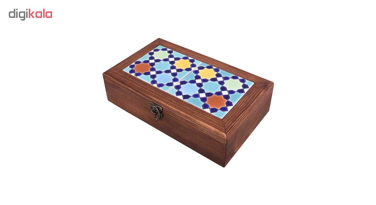 خرید                      جعبه هدیه طرح حوض خورشید مدل 02-19