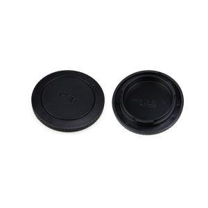 درپوش لنز و بدنه دوربین جی جی سی مدل L-R15 مناسب برای دوربین های بدون آینه کنون سری EOS-M و لنزهای سری EF-M