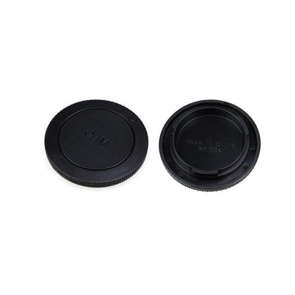 درپوش لنز و بدنه دوربین جی جی سی مدل L-R15 مناسب برای دوربین کانن