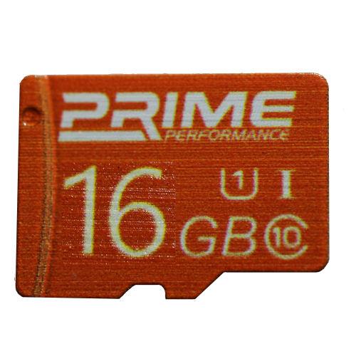 کارت حافظه SDHC پرایم مدل PERFORMANC کلاس 10 استاندارد U1 سرعت  60MBps ظرفیت 16 گیگابایت