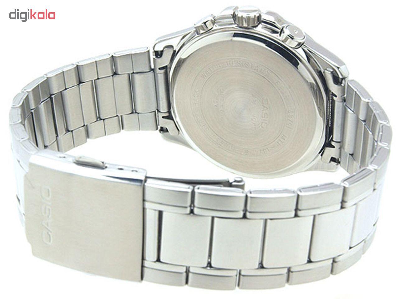 کد تخفیف                                      ساعت مچی عقربه ای مردانه کاسیو مدل MTP-1374D-2AVDF