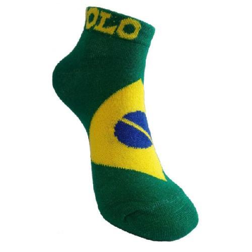 جوراب مردانه طرح پرچم برزیل