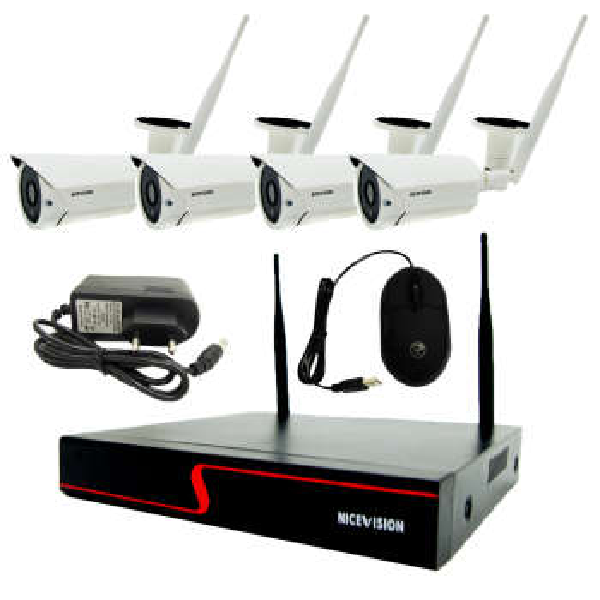 سیستم امنیتی تحت شبکه نایس ویژن مدل AG-WK-01