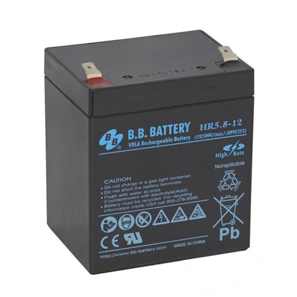 باتری یو پی اس 12ولت 5 آمپر بی. بی. مدل AG-BA-01