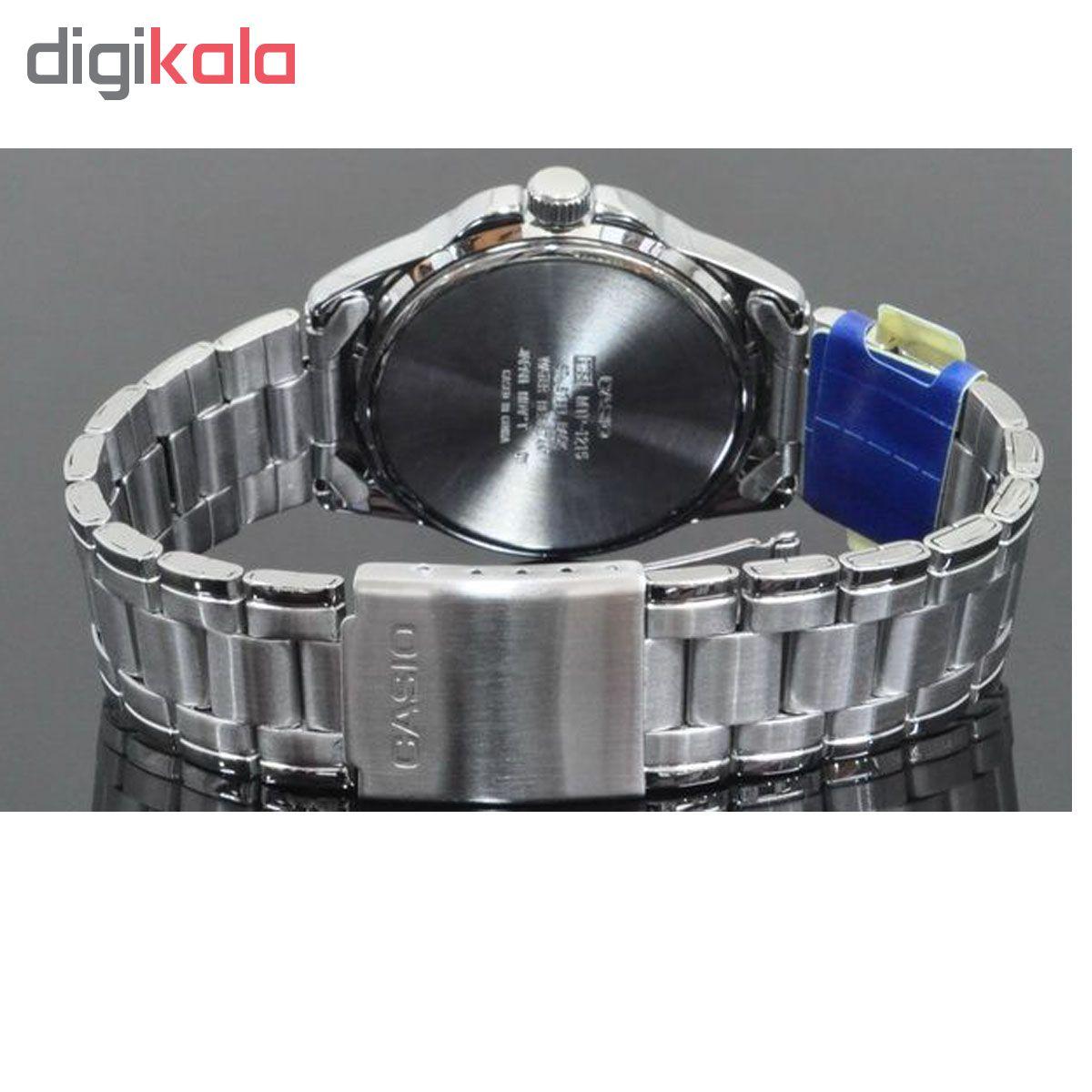 ساعت مچی عقربه ای مردانه کاسیو مدل MTP-1215A-2ADF