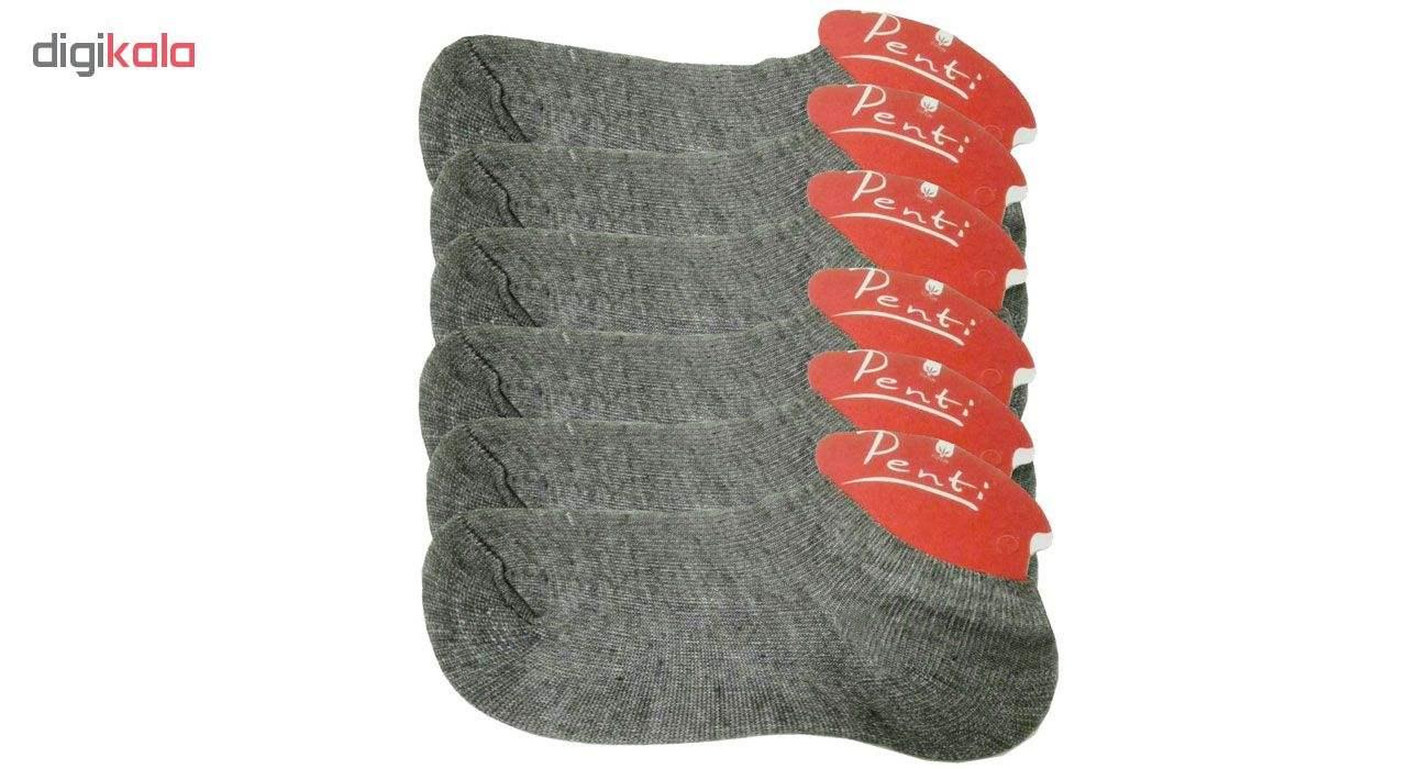 جوراب زنانه پنتی کد 201 بسته 6 عددی main 1 1