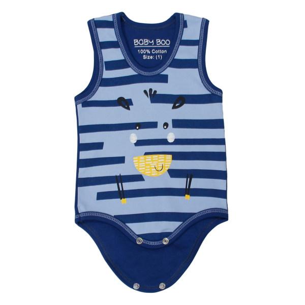بادی نوزاد بیبی بو طرح zebra