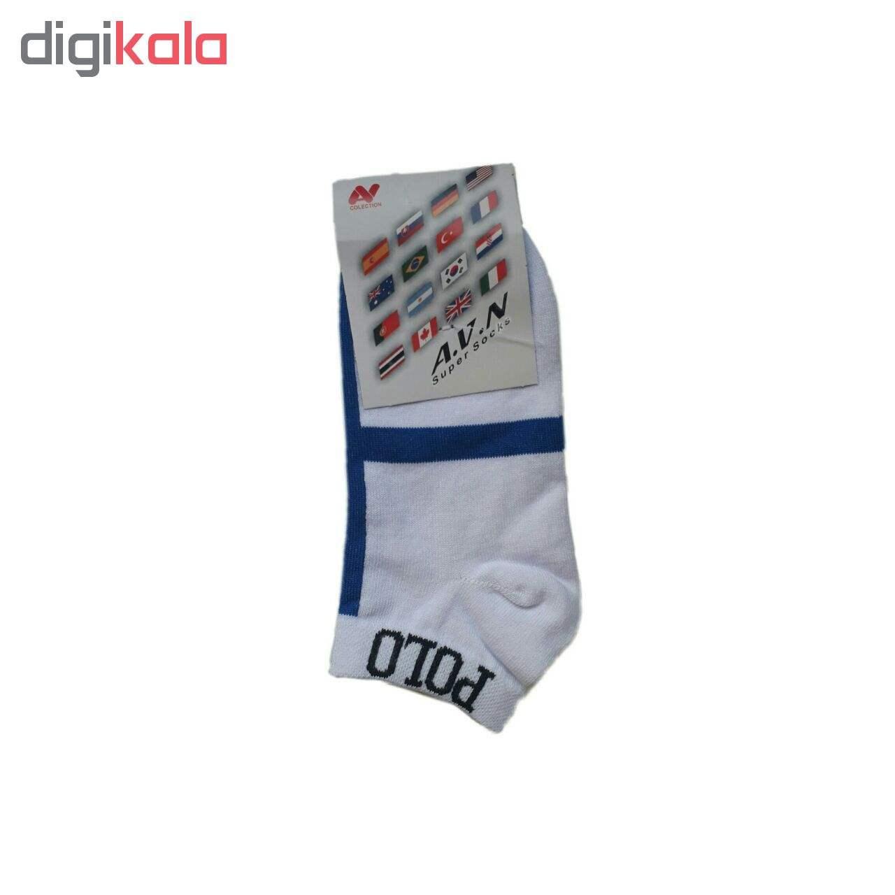 جوراب مردانه کد PO03 main 1 2