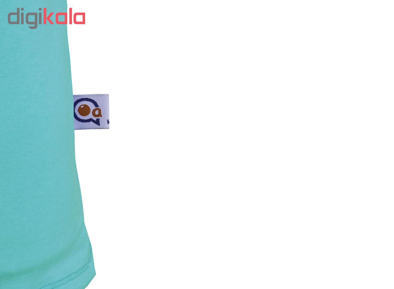 خرید                                      ست تاپ و شلوارک زنانه آکو طرح کتونی کد BC107