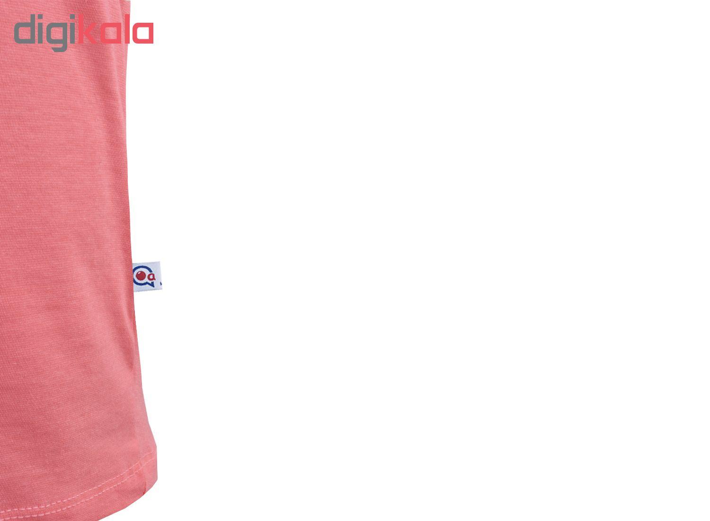 خرید                                      ست تاپ و شلوارک زنانه آکو طرح کتونی کد BG107
