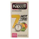 کاندوم کاپوت مدل 7Hot Time بسته 12 عددی thumb