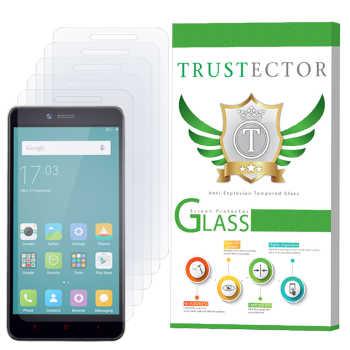 محافظ صفحه نمایش تراستکتور مدل GLS مناسب برای گوشی موبایل شیائومی Redmi Note 2 / Redmi Note 2 Prime بسته 5 عددی