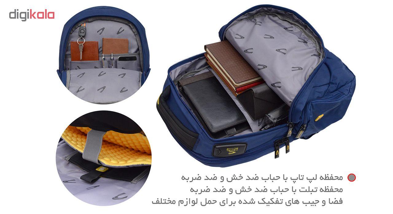 کوله پشتی لپ تاپ مدل CL1600106 - 3524 مناسب برای لپ تاپ 15.6 اینچی